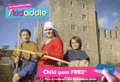 Skidaddle to Yorkshires Bolton castle and Save..